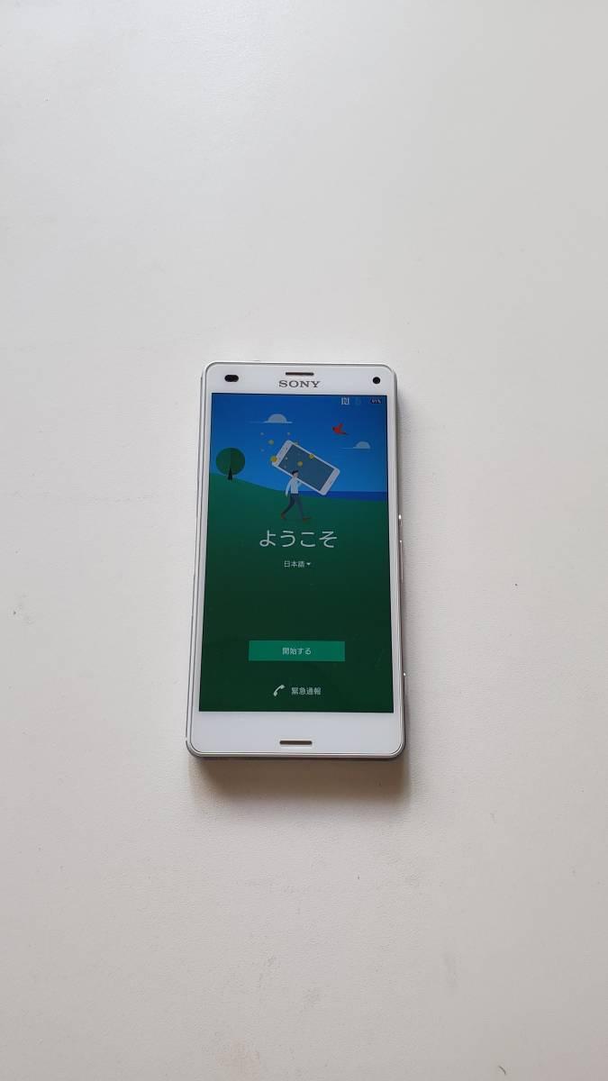 【美品】SONY Xperia Z3 Compact SO-02G ホワイト