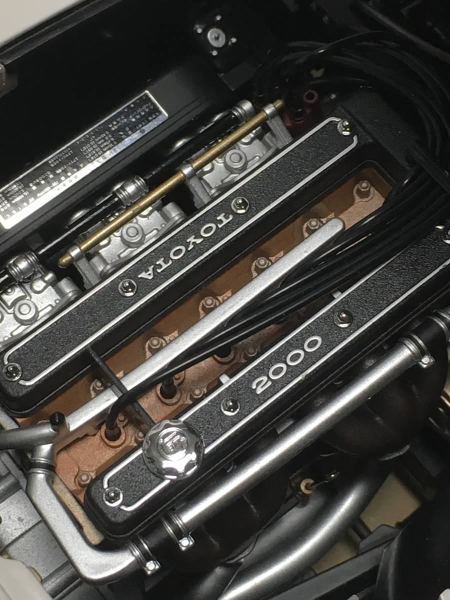 ディアゴスティーニ トヨタ2000GT組み立て済み_画像2