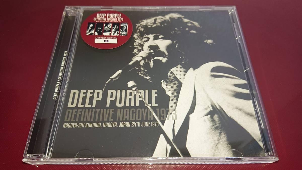 DEEP PURPLE - DEFINITIVE NAGOYA 1973(1CDプレス盤) 初回ナンバー入りステッカー付き