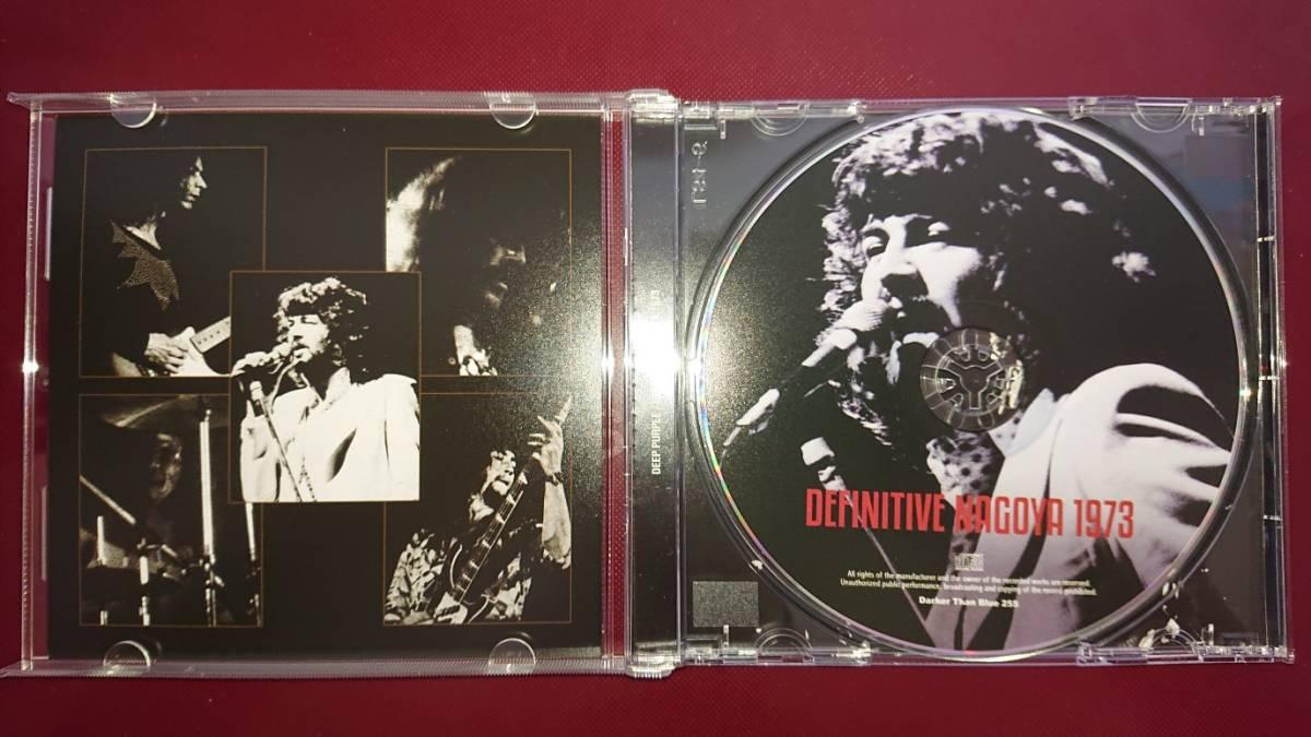 DEEP PURPLE - DEFINITIVE NAGOYA 1973(1CDプレス盤) 初回ナンバー入りステッカー付き_画像3