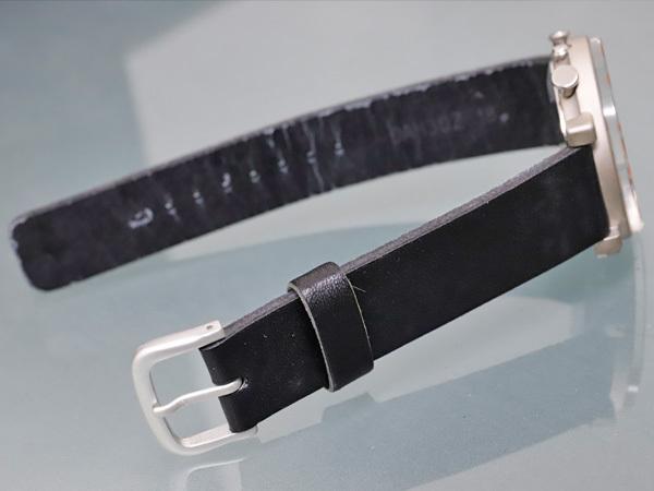 セイコー 極希少 当時物 元祖 ソットサス1 クロノグラフ メンズウォッチ 紳士腕時計 クロノ 純正ベルト尾錠 SEIKO SOTTSASS 本物 正規 _画像7