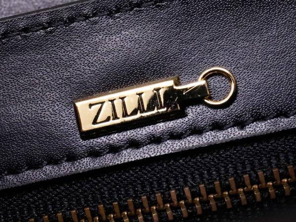 超美品 ジリー 最高級エンボスドレザーWコンパートメントメンズ書類ビジネスバッグ 黒 ブラック 仕事鞄 ブリーフケース ZILLI 本物 正規_画像8