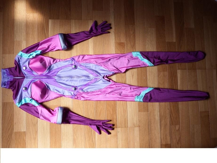 「宇宙戦艦ヤマト2199 メルダ」チャコット製レオタードコスプレ衣装です
