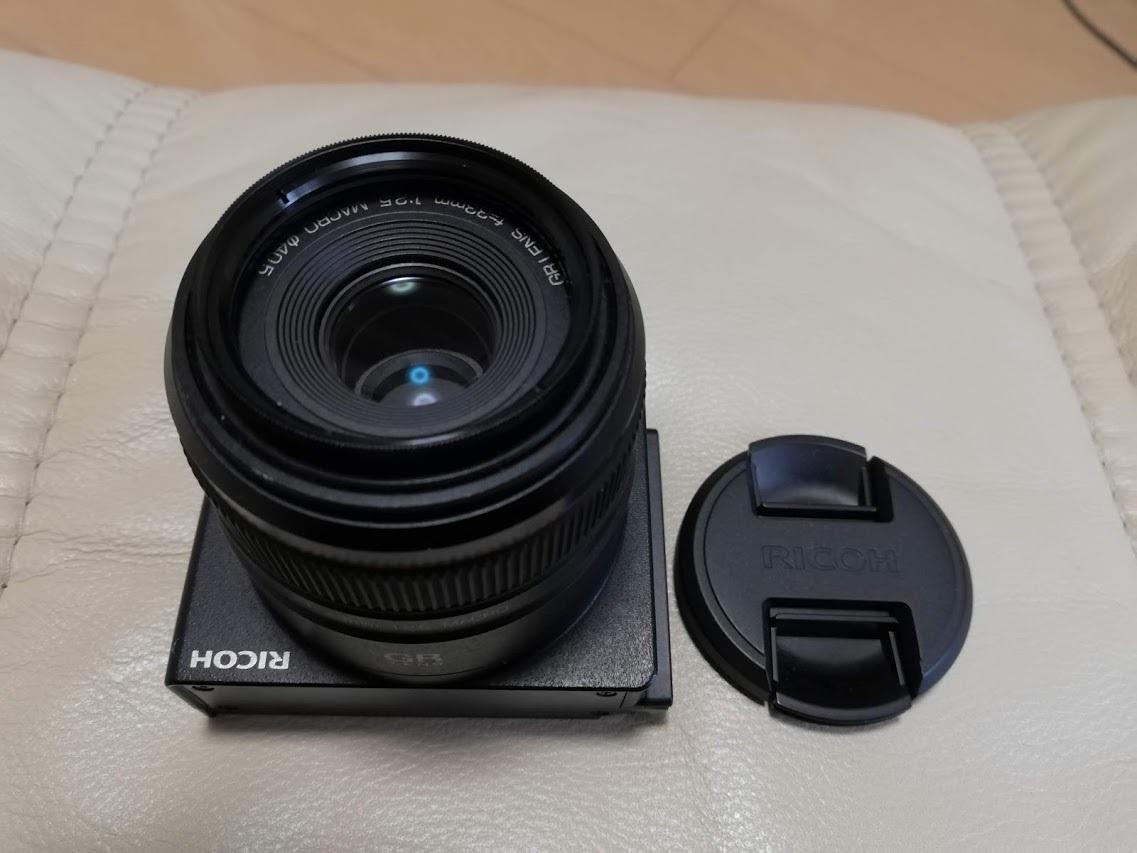 美品 RICOH GXR用カメラユニット GR LENS A12 50mm F2.5 MACRO_画像7