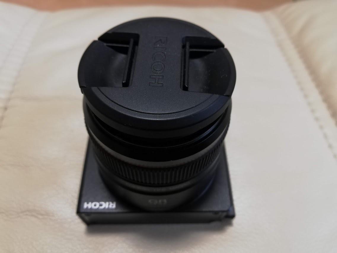 美品 RICOH GXR用カメラユニット GR LENS A12 50mm F2.5 MACRO_画像6