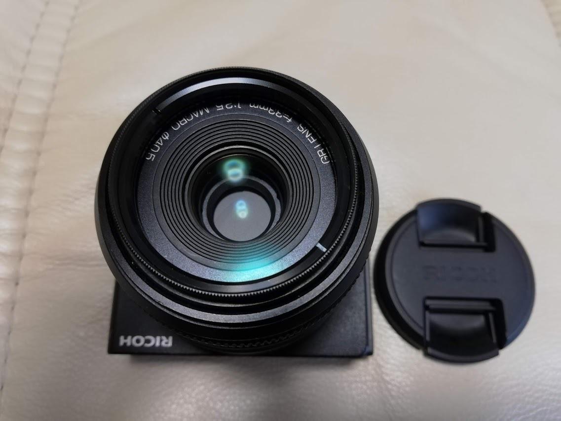 美品 RICOH GXR用カメラユニット GR LENS A12 50mm F2.5 MACRO_画像2