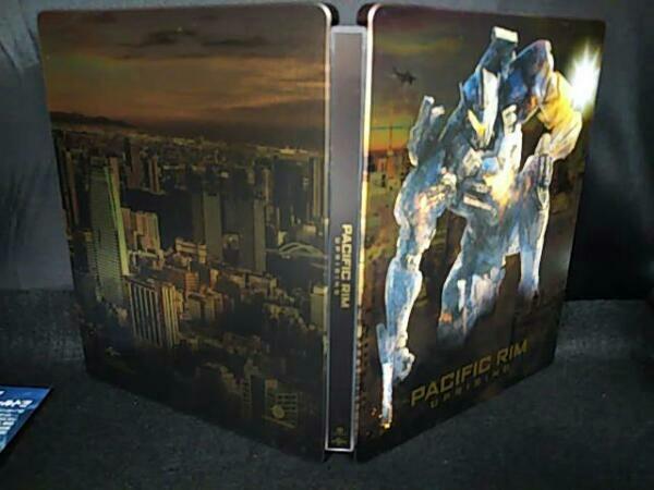 パシフィック・リム:アップライジング スチール・ブック仕様 ブルーレイ+DVDセット(Blu-ray Disc)_画像3