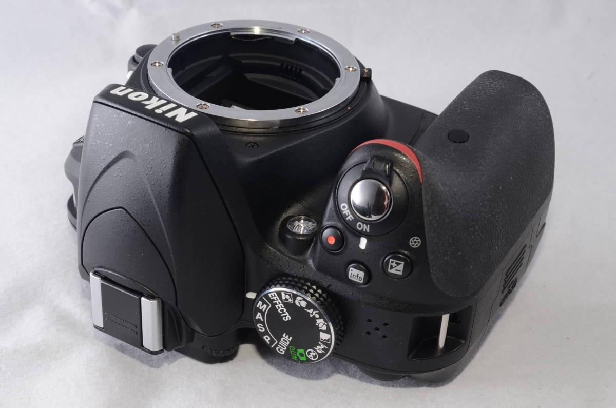 【新品同様品】ニコン Nikon D3300 18-55mm VR II 純正レンズキット★ショット数1412回★届いたらすぐに使える初心者おすすめ得々パック♪_画像4