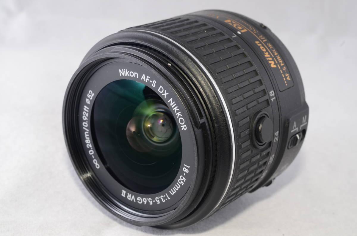 【新品同様品】ニコン Nikon D3300 18-55mm VR II 純正レンズキット★ショット数1412回★届いたらすぐに使える初心者おすすめ得々パック♪_画像7
