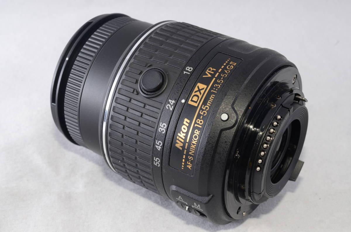 【新品同様品】ニコン Nikon D3300 18-55mm VR II 純正レンズキット★ショット数1412回★届いたらすぐに使える初心者おすすめ得々パック♪_画像9