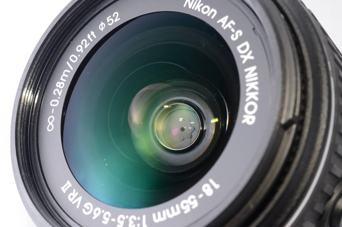 【新品同様品】ニコン Nikon D3300 18-55mm VR II 純正レンズキット★ショット数1412回★届いたらすぐに使える初心者おすすめ得々パック♪_画像10