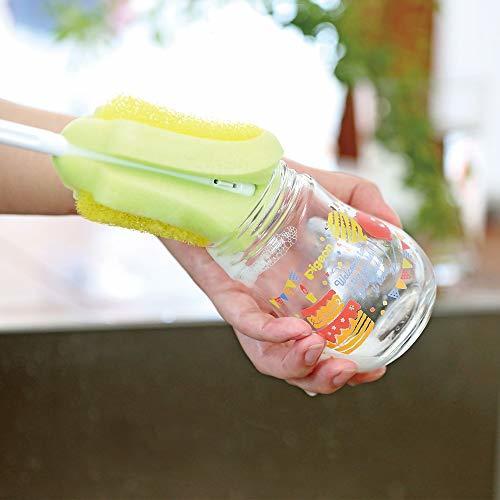 哺乳びん 哺乳瓶 耐熱ガラス製 パリ 160ml 0ヶ月から おっぱい育児を確実にサポートレッド 赤_画像6