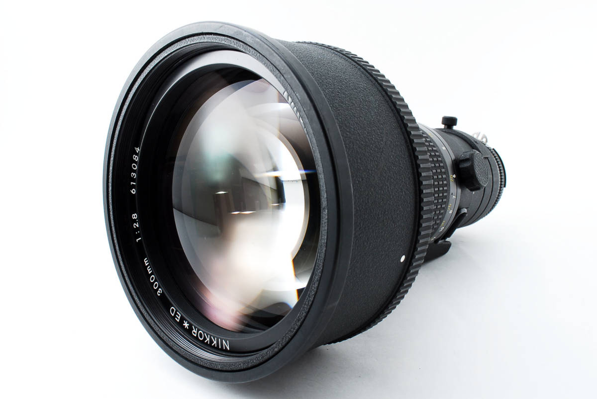 【人気のサンニッパ フード付良品】 Nikon ニコン Ai-s NIKKOR 300mm F2.8 ED IF カメラ レンズ 動作万全 同梱可能  #2736