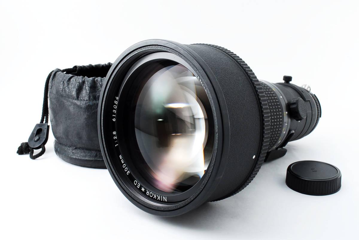 【人気のサンニッパ フード付良品】 Nikon ニコン Ai-s NIKKOR 300mm F2.8 ED IF カメラ レンズ 動作万全 同梱可能  #2736_画像2