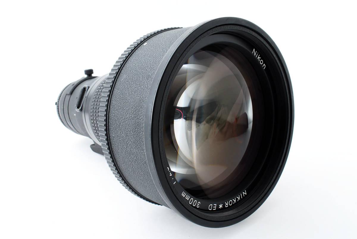 【人気のサンニッパ フード付良品】 Nikon ニコン Ai-s NIKKOR 300mm F2.8 ED IF カメラ レンズ 動作万全 同梱可能  #2736_画像4