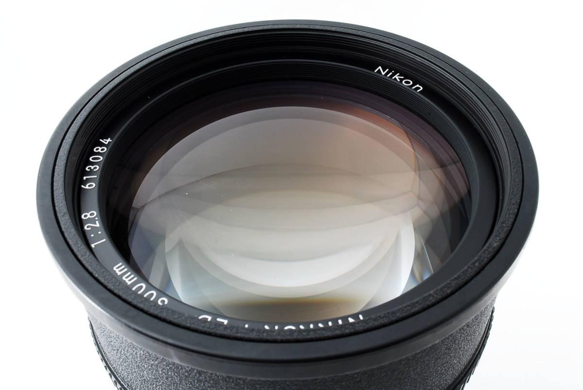 【人気のサンニッパ フード付良品】 Nikon ニコン Ai-s NIKKOR 300mm F2.8 ED IF カメラ レンズ 動作万全 同梱可能  #2736_画像8