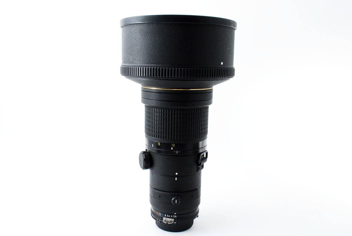 【人気のサンニッパ フード付良品】 Nikon ニコン Ai-s NIKKOR 300mm F2.8 ED IF カメラ レンズ 動作万全 同梱可能  #2736_画像9