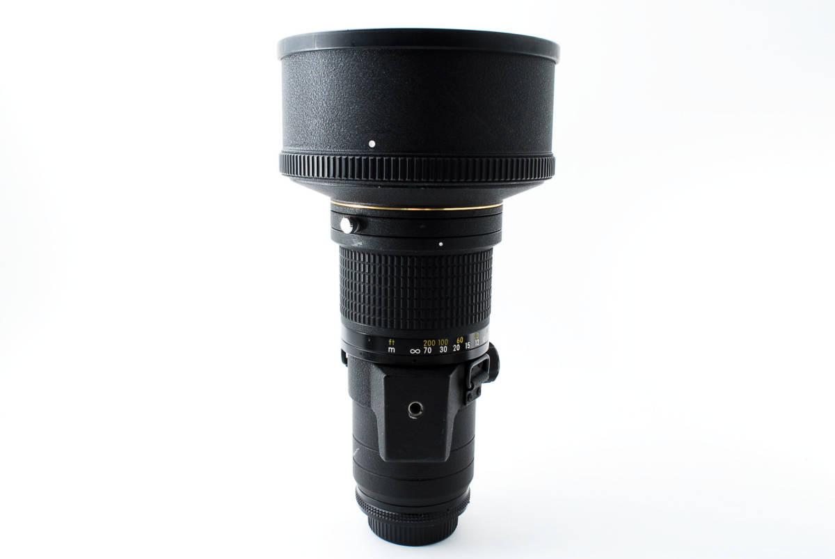 【人気のサンニッパ フード付良品】 Nikon ニコン Ai-s NIKKOR 300mm F2.8 ED IF カメラ レンズ 動作万全 同梱可能  #2736_画像10