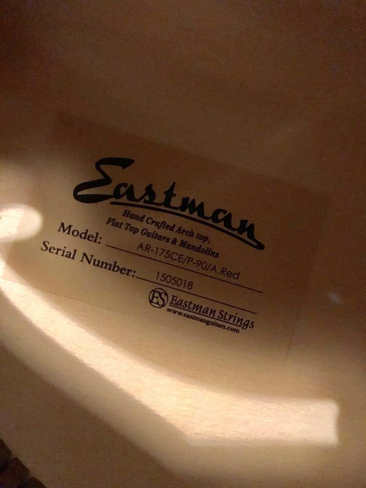 Eastman AR-175CE P-90 A.Red イーストマン フルアコ セミアコ es-175 es-335_画像8