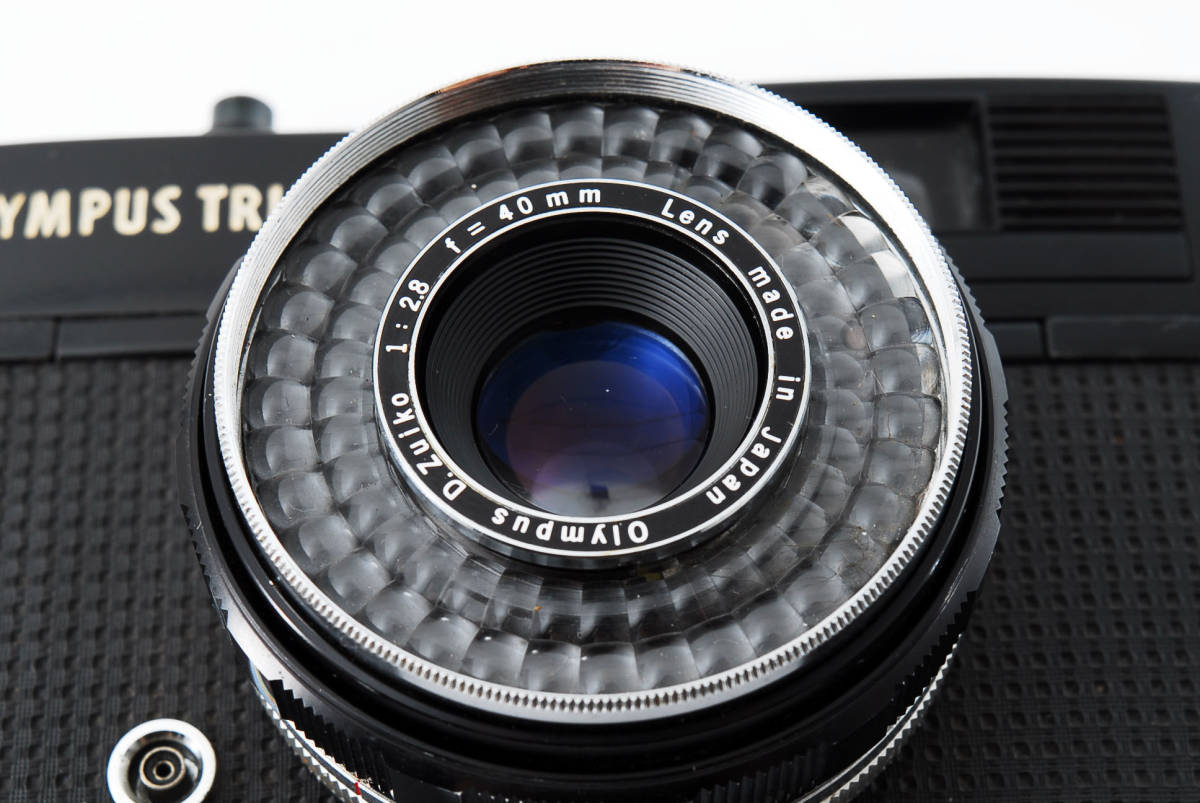 レア!ブラック ■ 即決・値下交渉あり ■ Olympus オリンパス Trip 35 D.Zuiko 40mm F2.8 フィルムカメラ ■ 2083_画像10