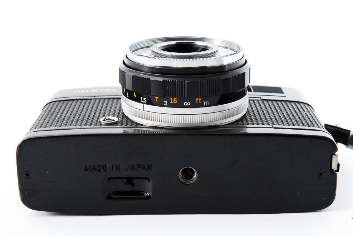 レア!ブラック ■ 即決・値下交渉あり ■ Olympus オリンパス Trip 35 D.Zuiko 40mm F2.8 フィルムカメラ ■ 2083_画像9