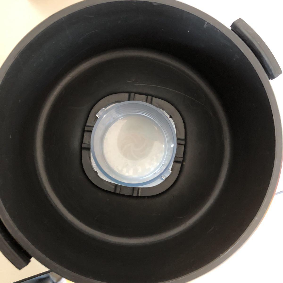 1円スタート!【動作確認済み】Vitamix バイタミックス VM0111 1.4L ホワイト ホールフードレシピ本付き ミキサー ジューサー ブレンダー _画像7