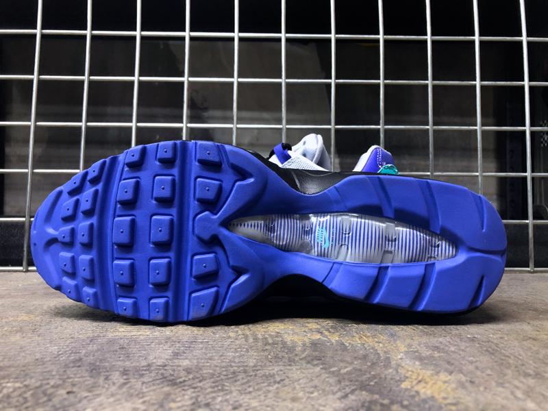 USA購入 Nike Air Max 95 OG WolfGrey ナイキ エアマックス 95 OG ウルフグレー/インディゴ バースト/ハイパー ジェイド US6 JP24cm_画像10