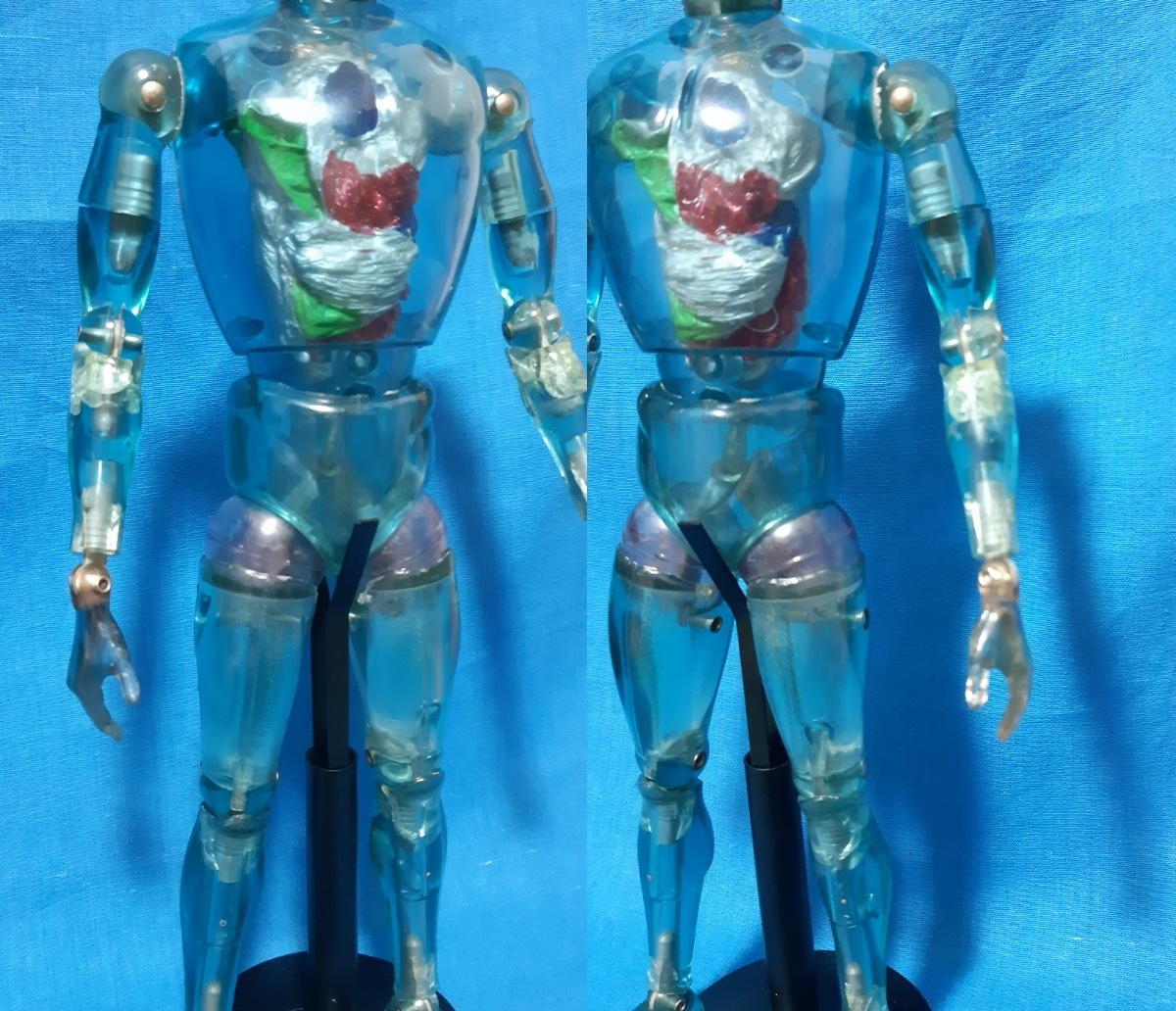 タカラ キングワルダー1世 ブルー 青 初期 変身サイボーグ GIジョー フィギュア ビンテージ_画像9