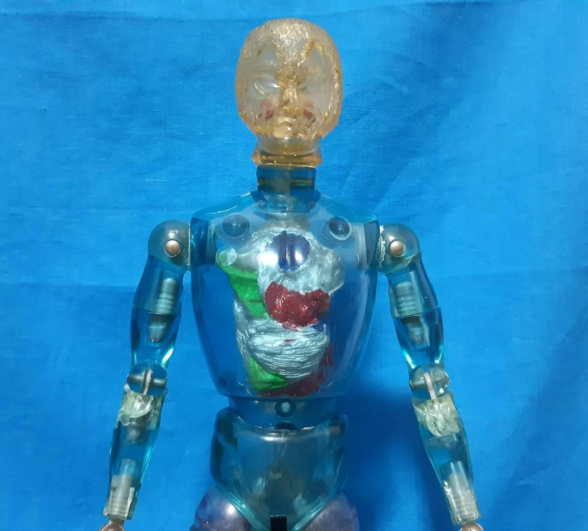 タカラ キングワルダー1世 ブルー 青 初期 変身サイボーグ GIジョー フィギュア ビンテージ