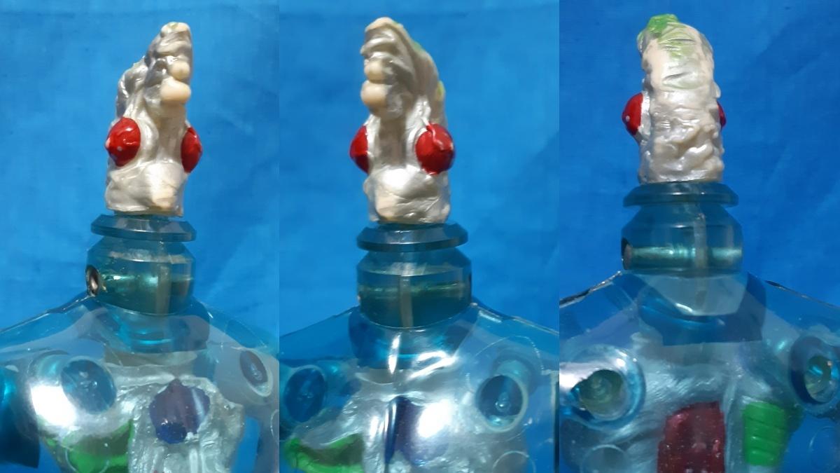 タカラ キングワルダー1世 ブルー 青 初期 変身サイボーグ GIジョー フィギュア ビンテージ_画像4