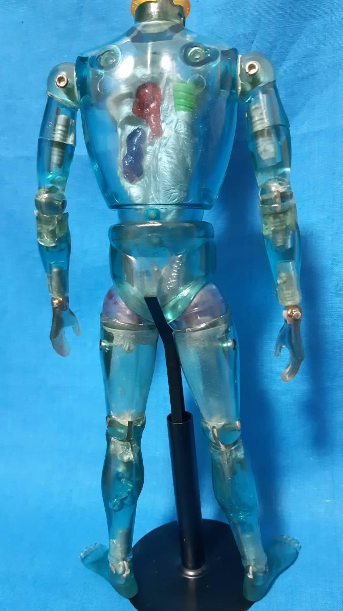 タカラ キングワルダー1世 ブルー 青 初期 変身サイボーグ GIジョー フィギュア ビンテージ_画像7