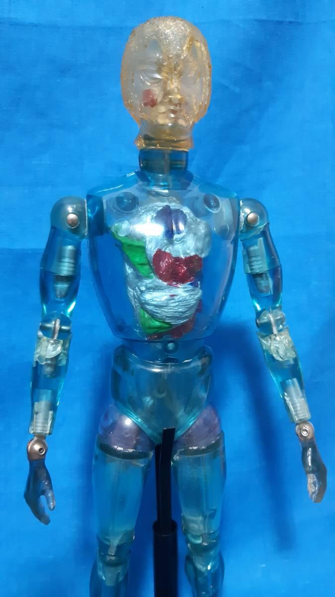 タカラ キングワルダー1世 ブルー 青 初期 変身サイボーグ GIジョー フィギュア ビンテージ_画像10