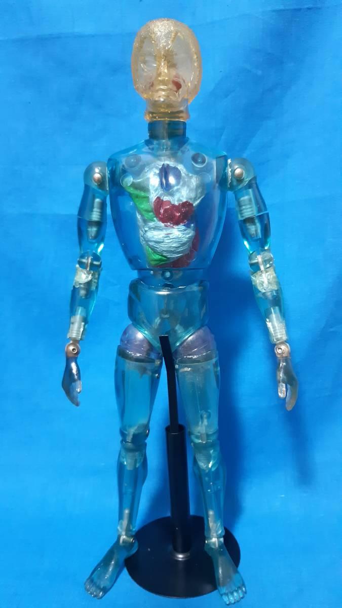 タカラ キングワルダー1世 ブルー 青 初期 変身サイボーグ GIジョー フィギュア ビンテージ_画像2