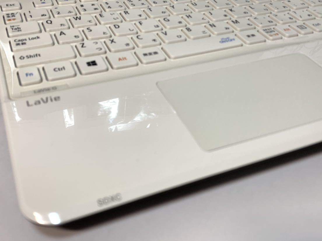 ☆美品☆激速♪ 高性能☆core i3-4000M (新品)SSD360GB NEC LAVIE G メモリ4GB bluetooth office2016_画像4
