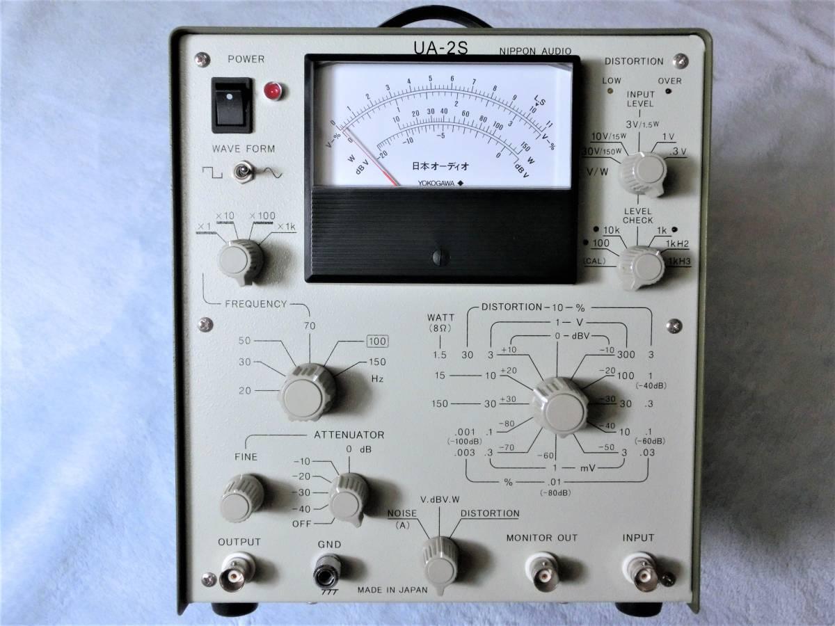 日本オーディオ オーディオ総合測定器 UA-2S 中古美品 取説 / 機器接続部品付属_画像4