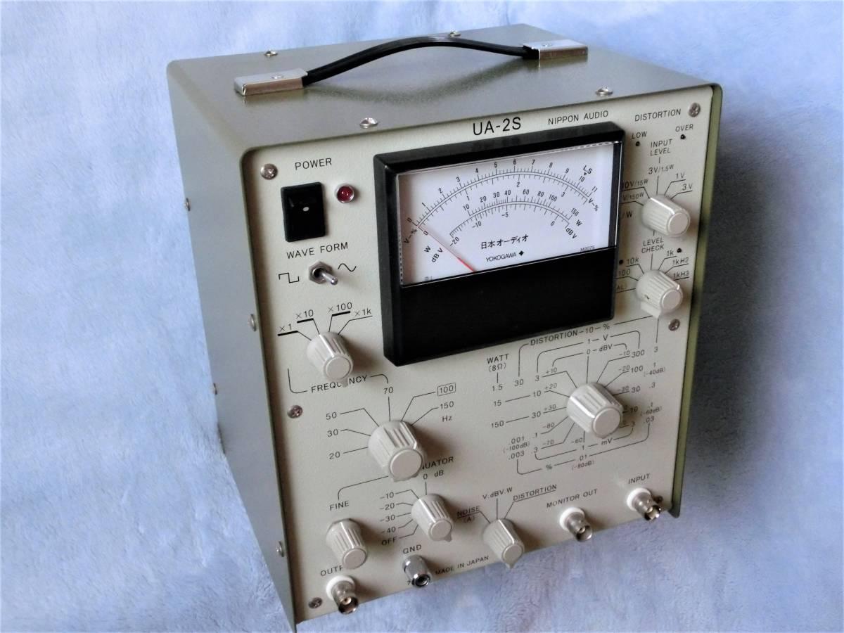日本オーディオ オーディオ総合測定器 UA-2S 中古美品 取説 / 機器接続部品付属