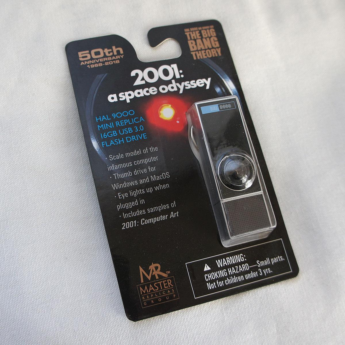 2001年宇宙の旅 HAL 9000 USBメモリ 16GB 新品・送料無料・マスターレプリカグループ製 Master Replicas Group USB 3.0 Flash Drive