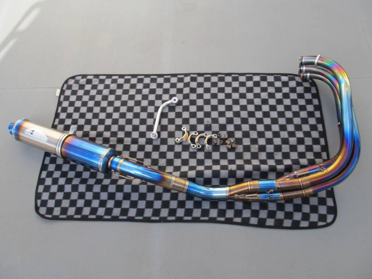 ゼファー1100 Kファクトリー チタン マフラー