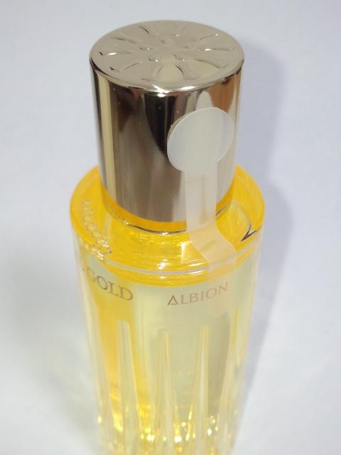新品未開封 アルビオン ハーバルオイル ゴールド 40ml 化粧用油_画像3