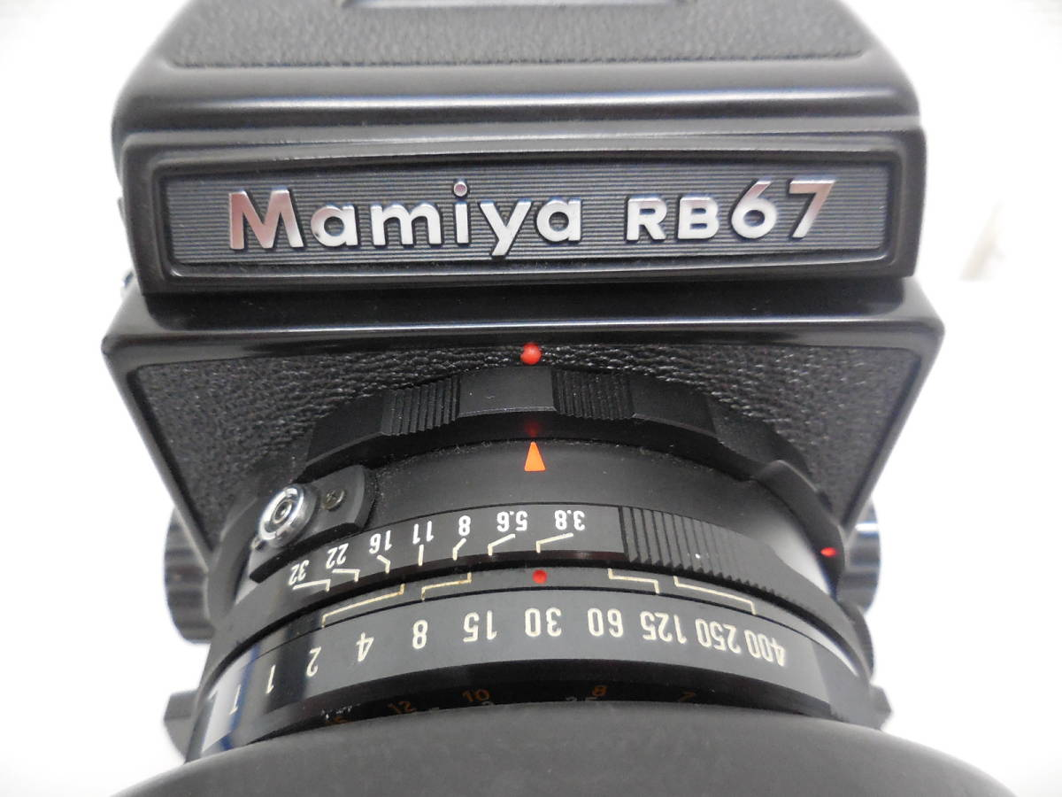 Mamiya RB67 中判カメラ PROFESSIONAL 動作未確認 ジャンク_画像3