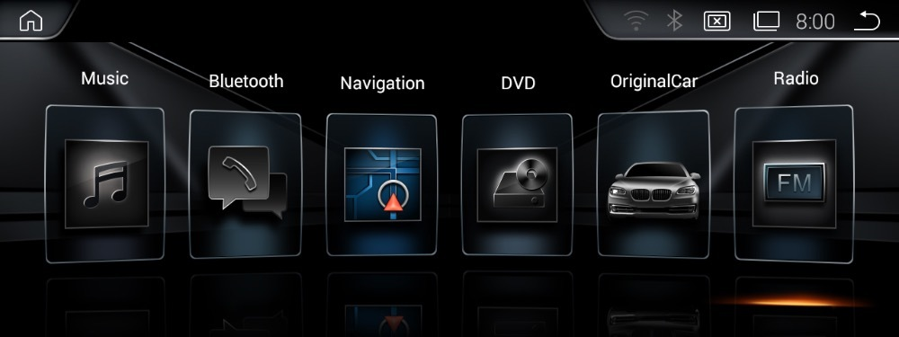 BMW 日本語版 android ナビ 9.0 カメラ付き E60、E61,E62,E63,E64,M6 E90 E91 E92 CCC AUX無し車種用_画像9