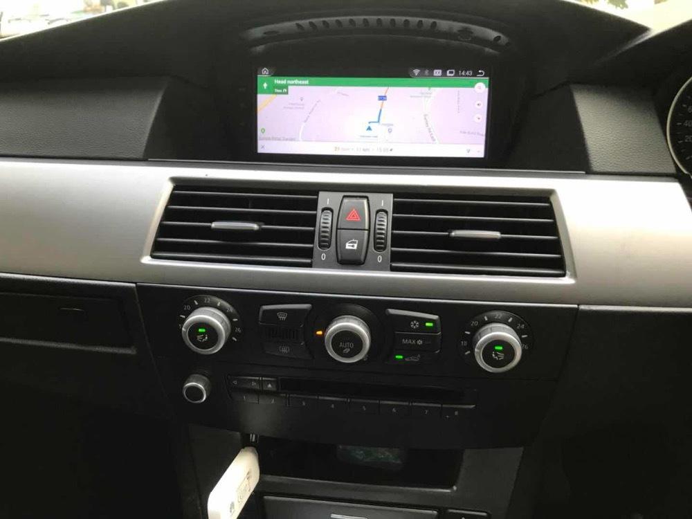 BMW 日本語版 android ナビ 9.0 カメラ付き E60、E61,E62,E63,E64,M6 E90 E91 E92 CCC AUX無し車種用_画像6