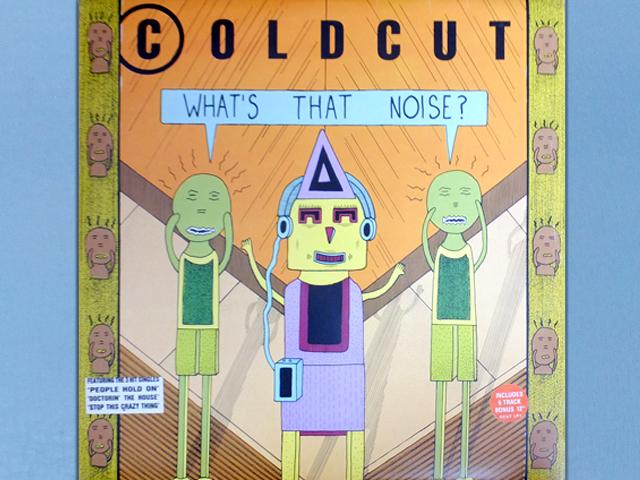 【UKオリジナル 2LP!!】COLDCUT / WHAT'S THAT NOISE? ダウンタウンのガキの使いやあらへんで!旧OP曲 ガキ使