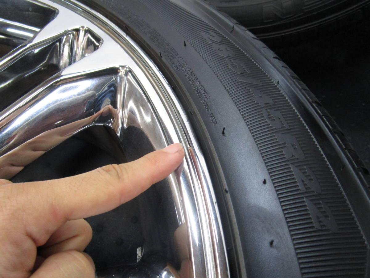 売り切り!2007y- キャデラック エスカレード 純正ルック 22インチ アルミホイールタイヤ付4本セット_画像9