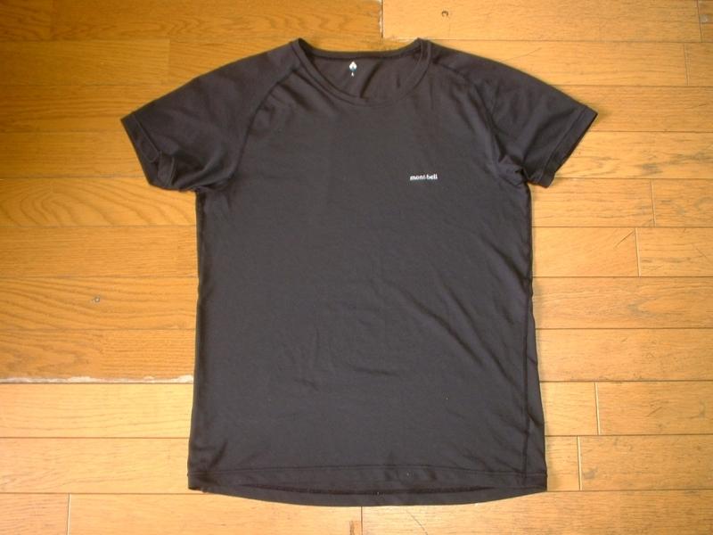 超お得2着セットTHE NORTH FACE & mont bell速乾性ドライフィットTシャツ美品Lアイボリー&黒ブラック正規ノースフェイス&モンベルOUTDOOR_画像5