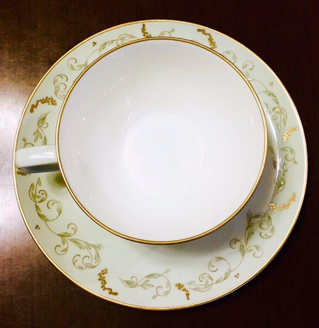 大倉陶園 100年前 紅茶 コーヒー カップ&ソーサー 6客_画像4