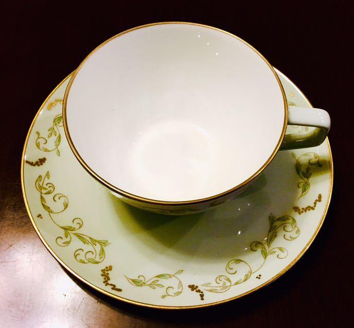 大倉陶園 100年前 紅茶 コーヒー カップ&ソーサー 6客_画像3