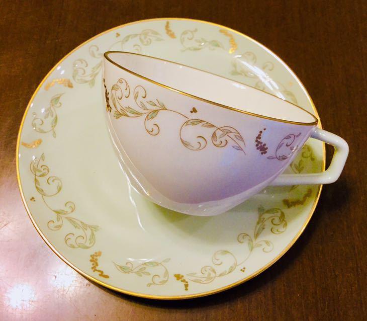 大倉陶園 100年前 紅茶 コーヒー カップ&ソーサー 6客_画像5