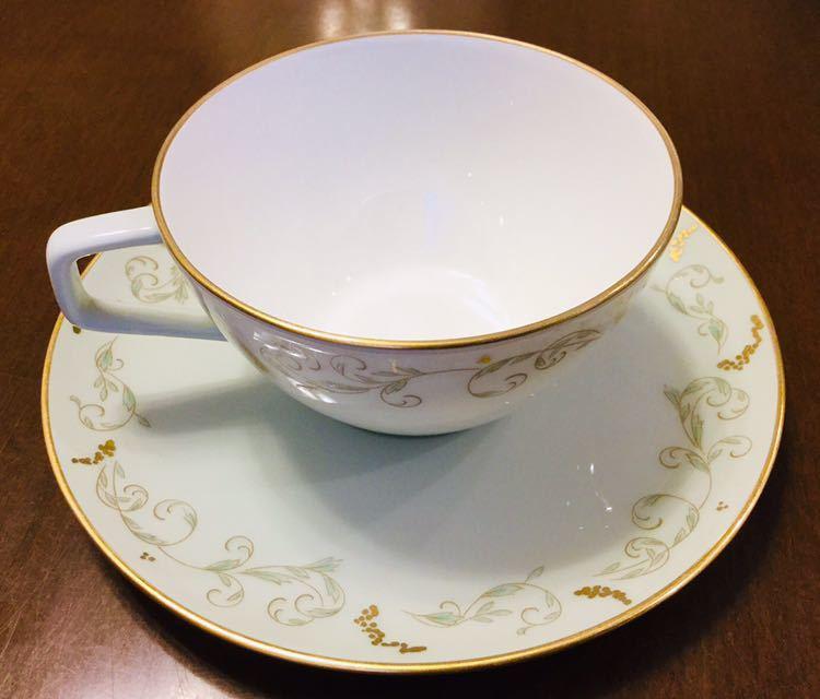 大倉陶園 100年前 紅茶 コーヒー カップ&ソーサー 6客_画像2