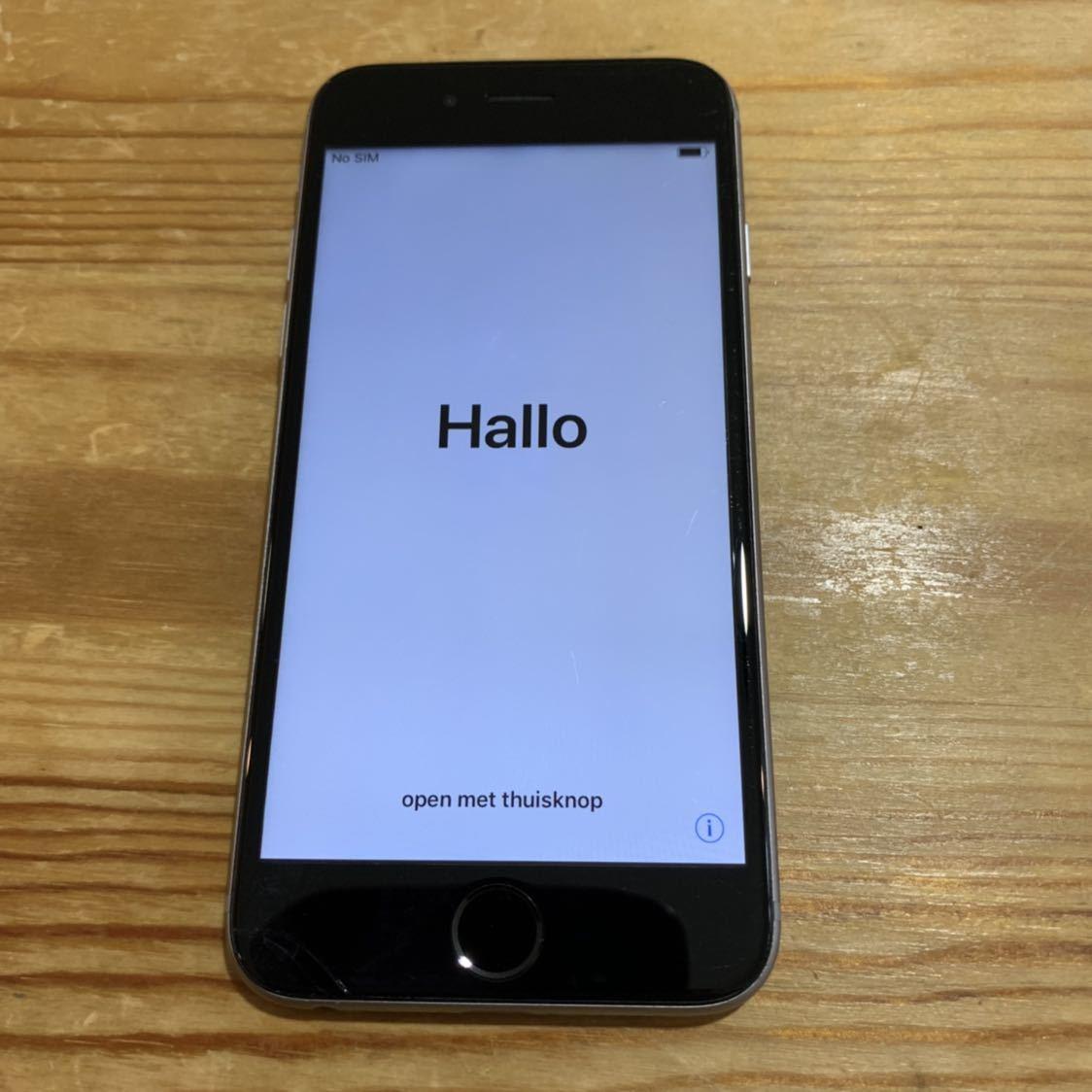 国内版SIMフリー!Apple iPhone6s 128GB 格安SIM スペースグレイ 送料無料 A1688